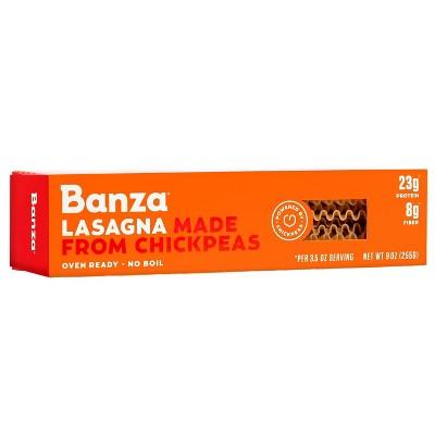 Banza Chickpea Pasta Lasagna 9 Oz