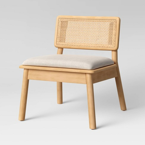 Tarawitt Modern Cane Accent Chair Natural - Project 62™ - image 1 of 4