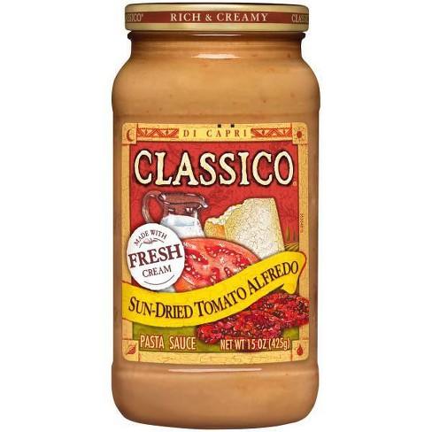 Classico Signature Recipes Sun-Dried Tomato Alfredo Pasta Sauce 15 oz - image 1 of 3