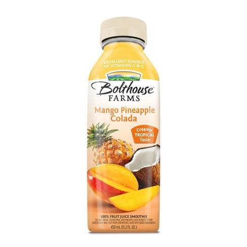 Bolthouse Farms Mango Pineapple Colada Fruit Juice Smoothie 15.2 oz - image 1 of 4