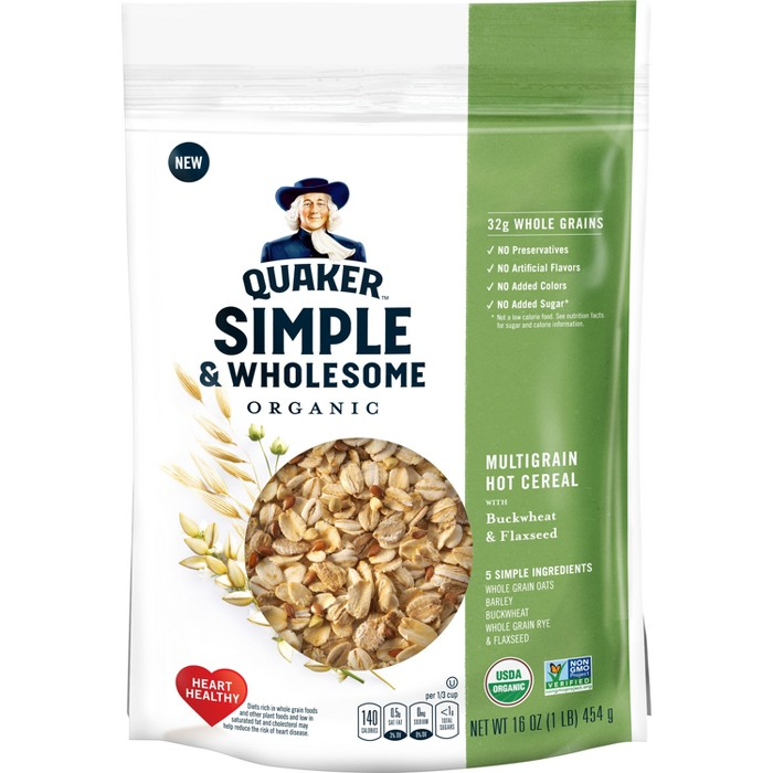 Quaker Simple & Wholesome Crunchy - 16oz - image 1 of 3