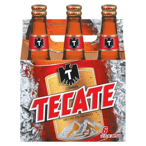 Tecate® Mexican Beer - 6pk / 12oz Bottles - image 1 of 1