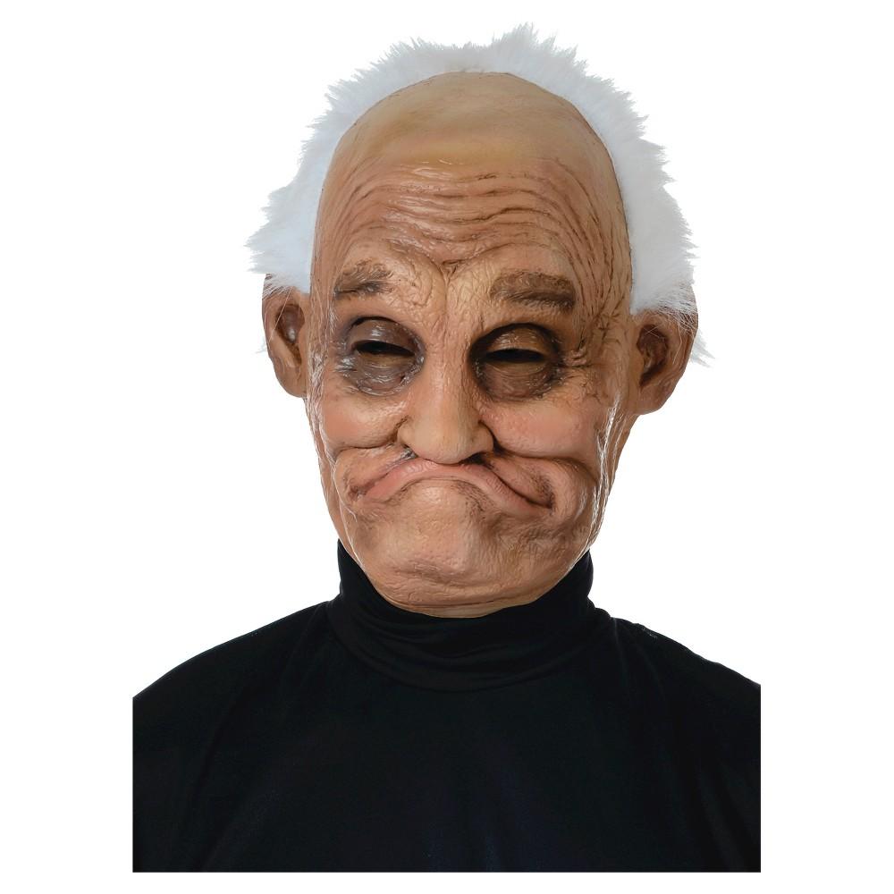 Men's Pappy Latex Mask Costume, Tan