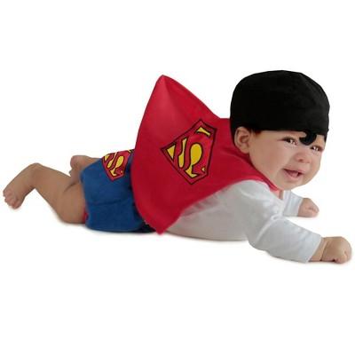 DC Comics Superman Diaper Cover Set Infant Costume
