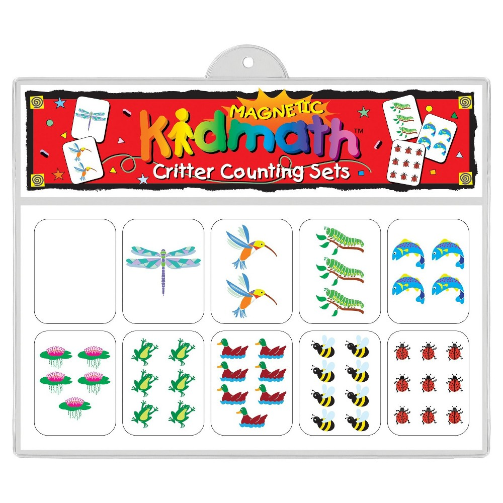 Image of Barker Creek KidMath Magnets - Critter Counting Sets