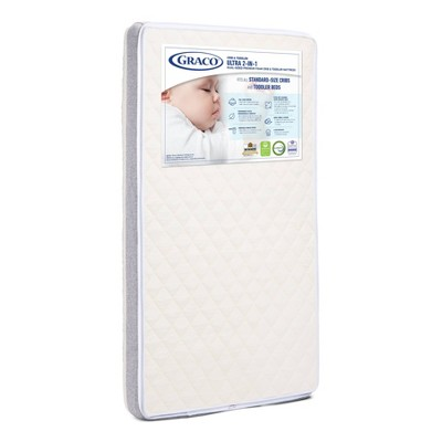 Graco Ultra 2-in-1 Premium Foam Dual-Sided Crib & Toddler Mattress