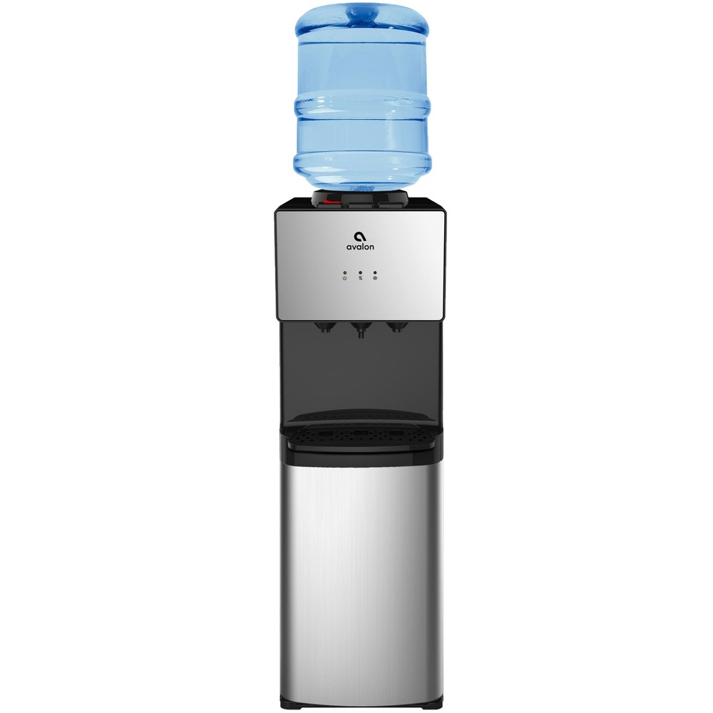 Image of Avalon Premium 3 Temperature Self Cleaning Countertop Water Cooler - Stainless Steel (Silver)