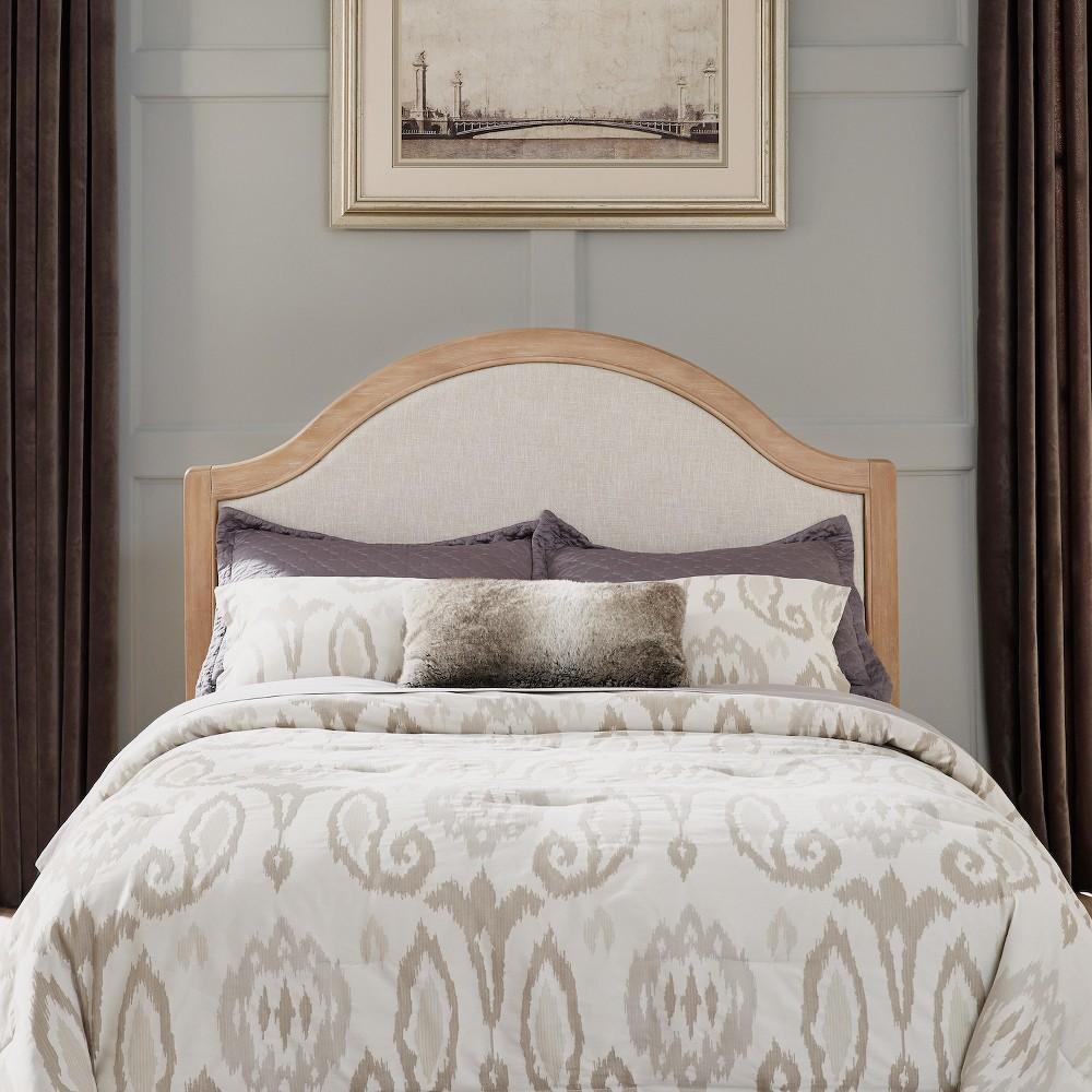 Queen/Full Cambridge Headboard White Wash - Home Styles