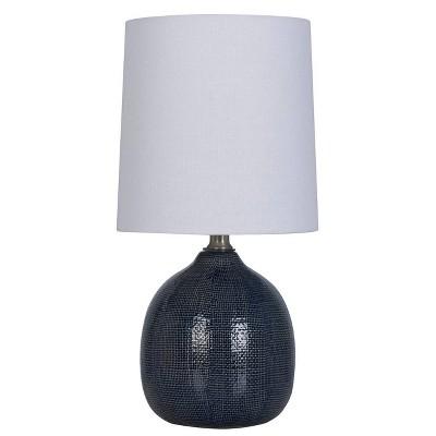 Textured Ceramic Mini Accent Lamp - Threshold™