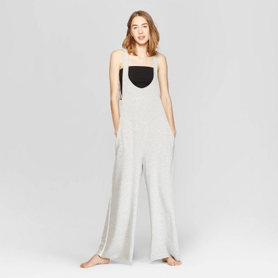 view Women's Lounge Jumpsuit - Colsie Heather Gray on target.com. Opens in a new tab.