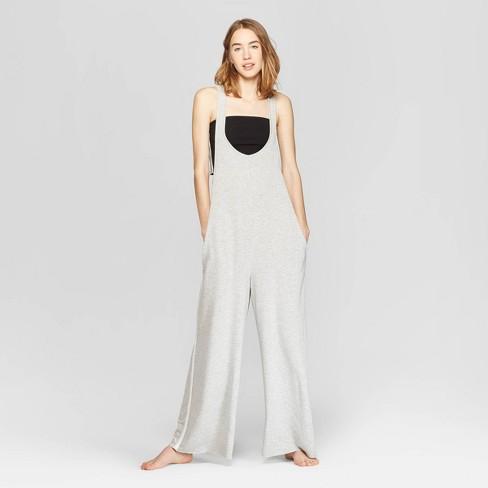 9eab07d73db Women s Lounge Jumpsuit - Colsie™ Heather Gray   Target