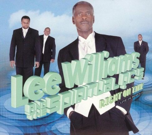 Lee williams - Right on time (CD) - image 1 of 1