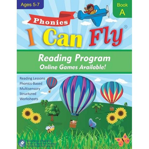 I Can Fly Reading Program - Book A, Online Games Available - (I Can Fly - Reading Program) by  Cheryl Orlassino (Paperback) - image 1 of 1