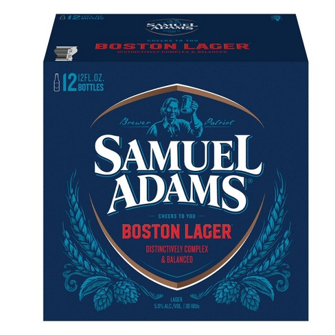 Samuel Adams Boston Lager Beer - 12pk/12 fl oz Bottles - image 1 of 4