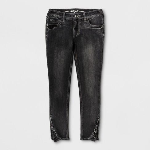 06921432dd67b Girls' Skinny Jeans - Cat & Jack™ Gray 5 : Target