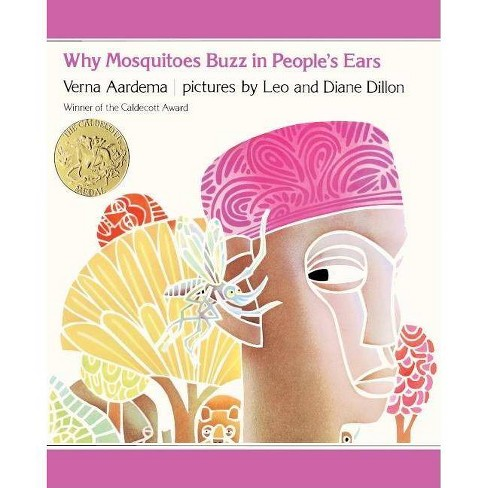 Why Mosquitoes Buzz in Peoples Ears - (Picture Puffin Books) by  Verna Aardema (Hardcover) - image 1 of 1