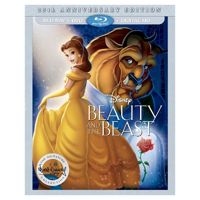 Beauty and the Beast - 25th Anniversary Edition (Blu-ray/DVD/Digital)