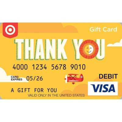 Visa Thank You eGift Card - $25 + $4 Purchase Fee (Email Delivery)