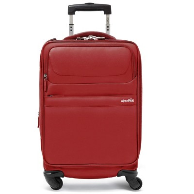 "Genius Pack G4 22"" 4-Wheel Carry-On Luggage"