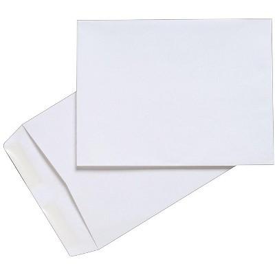 "MyOfficeInnovations Gummed Catalog Envelopes 9""L x 12""H White 100/Box (50264/47286N) 472886"
