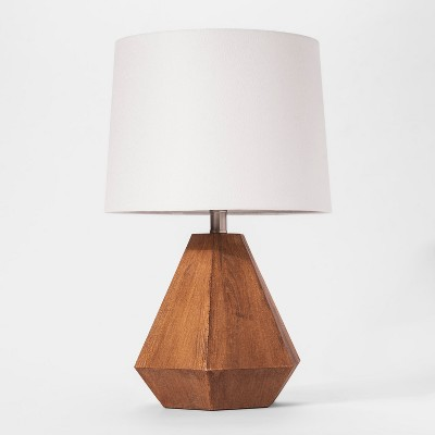 Wooden Table Lamp - Cloud Island™ Brown