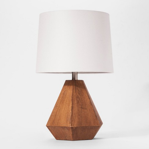 Wooden Table Lamp Cloud Island Brown
