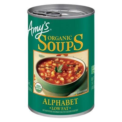 Amy's Organic Low Fat Alphabet Soup - 14.1oz