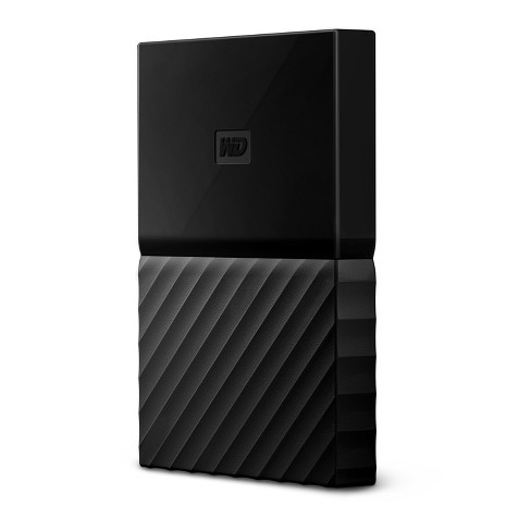 WD 4TB Black USB 3 0 My Passport Portable External Hard Drive - Black  (WDBYFT0040BBK-WESN)