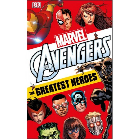 Marvel Avengers: The Greatest Heroes - by  Alastair Dougall (Paperback) - image 1 of 1