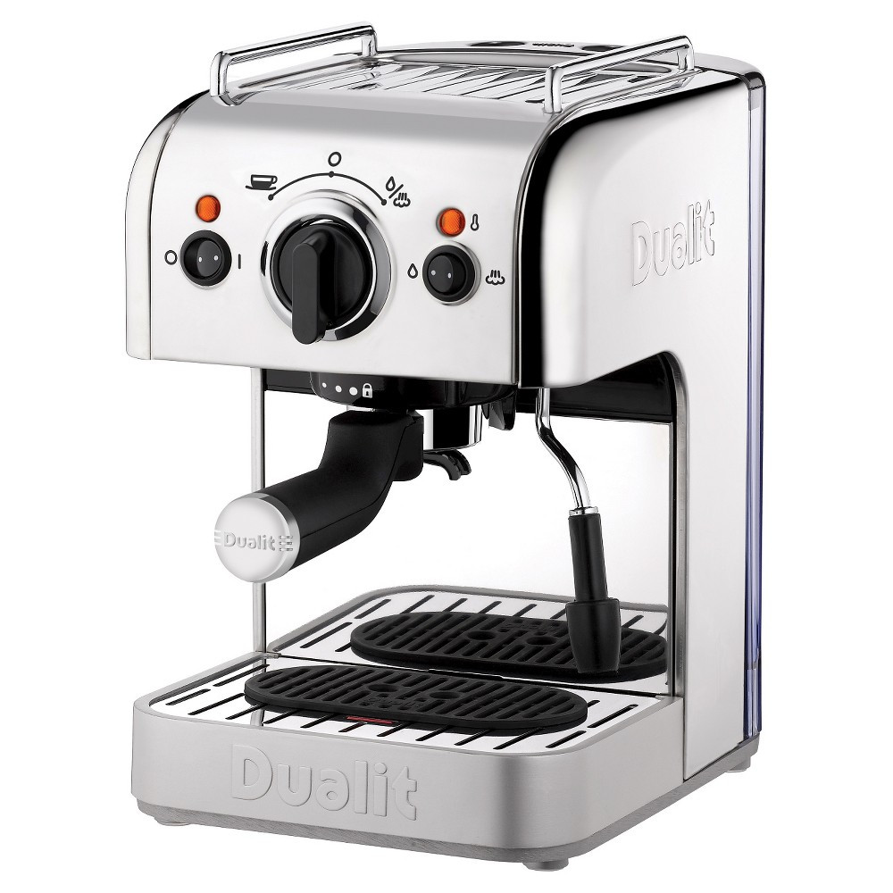 Dualit 3-in-1 Espresso Maker – Polished Chrome, Light Silver 50578174
