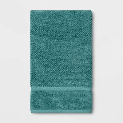 Performance Bath Towel Turquoise Texture - Threshold™