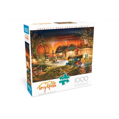 Buffalo Games Terry Redlin: Morning Warm Up Puzzle 1000pc