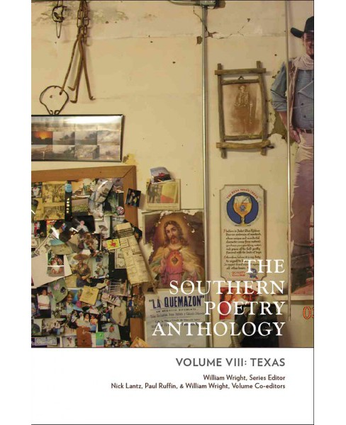Southern Poetry Anthology : Texas (Vol 8) (Paperback) - image 1 of 1
