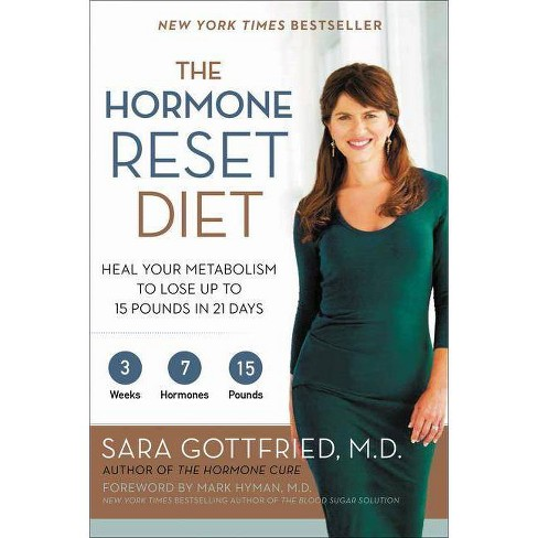 The Hormone Reset Diet - by  Sara Gottfried (Paperback) - image 1 of 1
