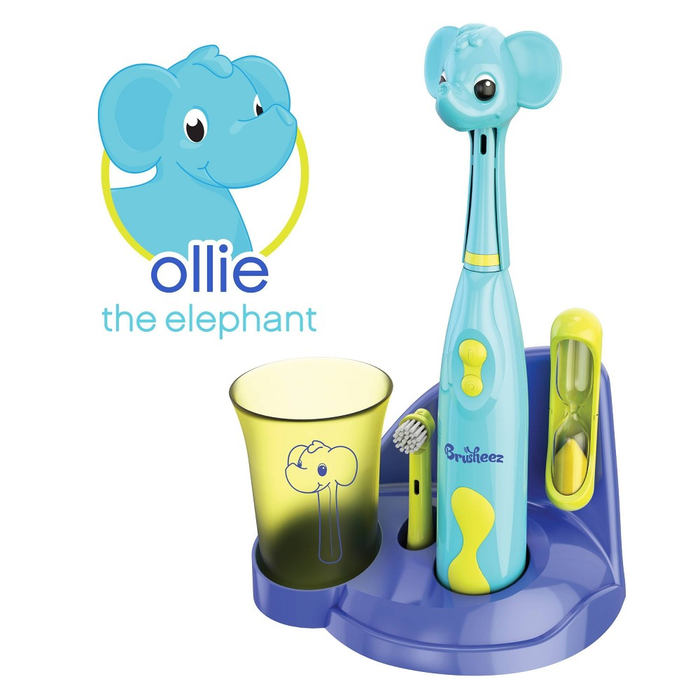 Image of Brusheez Ollie the Elephant Kid's Electric Toothbrush Set