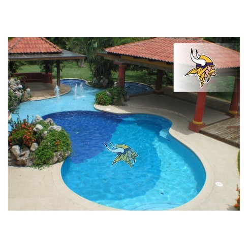 NFL Minnesota Vikings Large Pool Decal - image 1 of 1