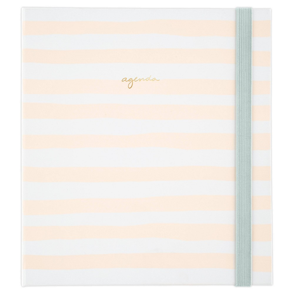 """Image of """"2020-21 Academic Planner 6.875"""""""" x 8.75"""""""" Pink Stripe with Stickers - Sugar Paper Essentials"""""""