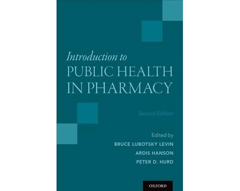 Introduction to Public Health in Pharmacy -  (Paperback) - image 1 of 1