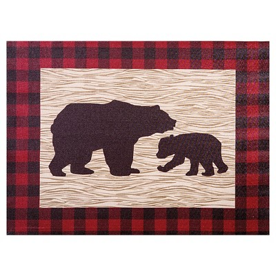 Trend Lab Canvas Wall Art - Northwoods Bear
