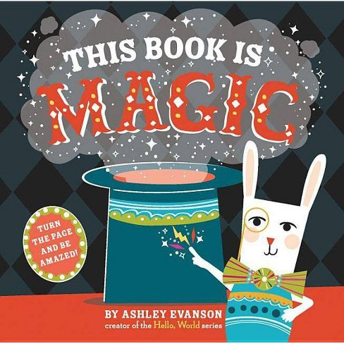 This Book Is Magic - by  Ashley Evanson (Hardcover) - image 1 of 1