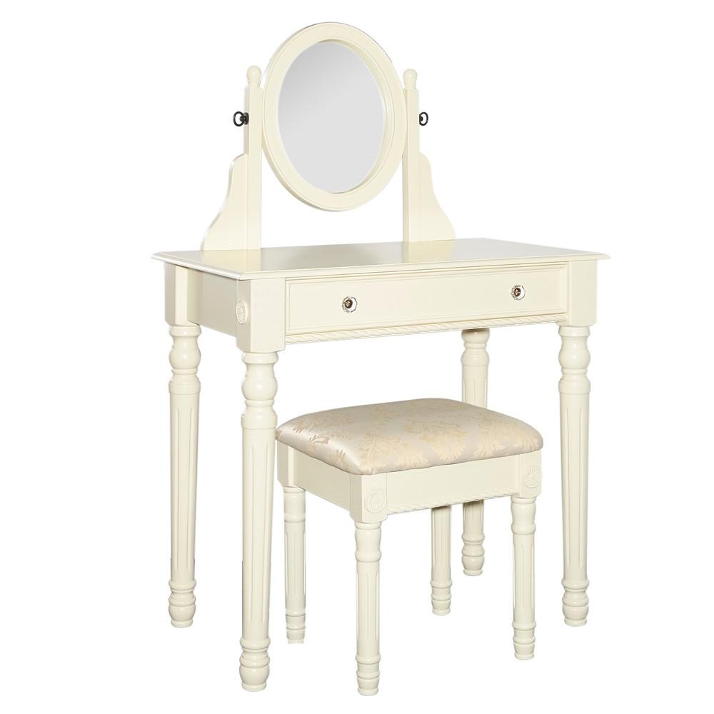 Vanity White - Linon Home Decor