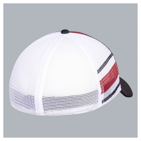85fc4180e58 NCAA Ohio State Buckeyes Men s Flex Fit With Mesh Audible Baseball Hat    Target