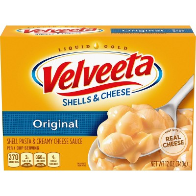 Kraft Velveeta Shells & Cheese Dinner Original 12oz