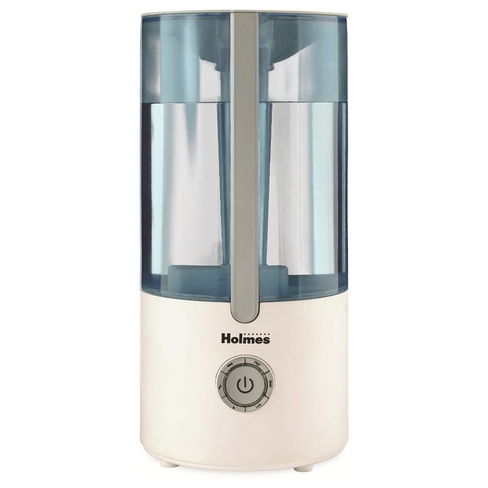 Holmes Ultrasonic Cool Mist Filter Free Humidifier HUL2425D-Wtu, White