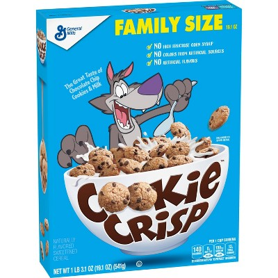 Cookie Crisp Breakfast Cereal - 19.1oz