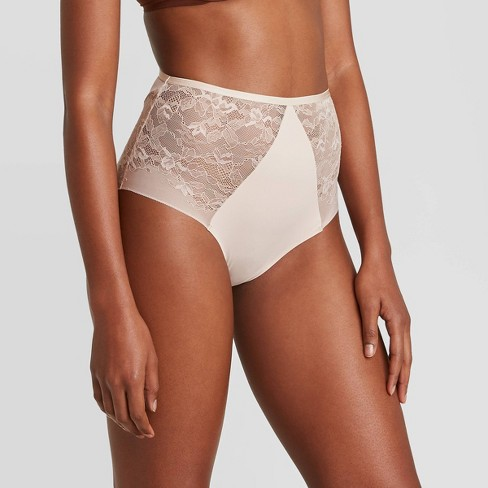 Women's Bonded Micro Briefs with Lace - Auden™ - image 1 of 2
