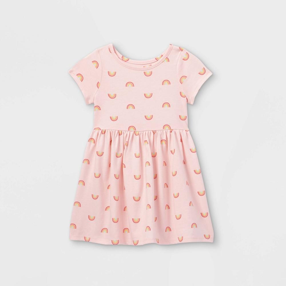Toddler Girls 39 Short Sleeve Dress Cat 38 Jack 8482 Light Pink 2t