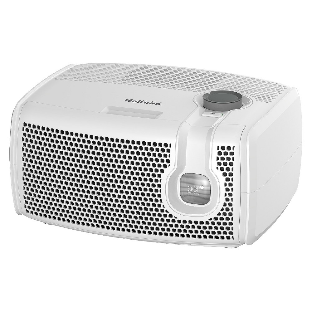 Holmes Visipure Tabletop Air Purifier HAP9241W-T, White