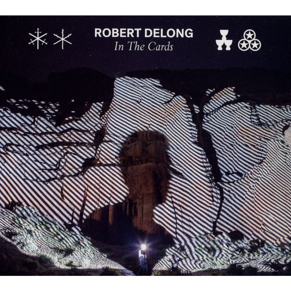 Robert Delong - In The Cards (CD) Disc 1 1. In the Cards 2. Long Way Down 3. Jealousy 4. Don't Wait Up 5. Possessed 6. Sellin' U Somethin 7. Born to Break - (featuring Mndr) 8. Acid Rain 9. Future's Right Here 10. Pass Out 11. That's What We Call Love