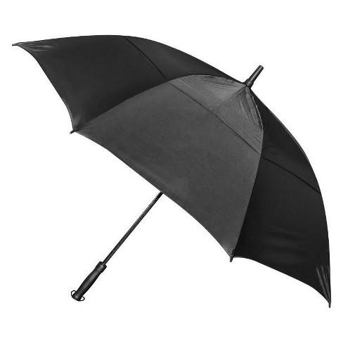 "IZZO Golf 56"" Golf Umbrella - Black - image 1 of 5"